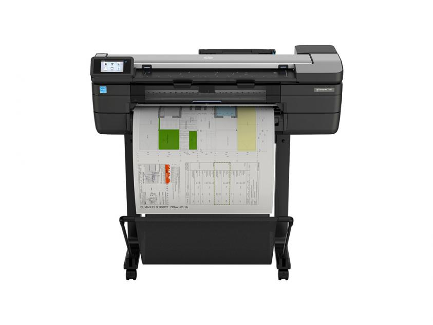 Plotter MFP HP DesignJet T830 24-in with new stand (F9A28D)