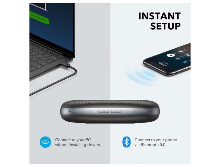 Speaker Anker Soundcore Motion Q Bluetooth Black (A3108G11)