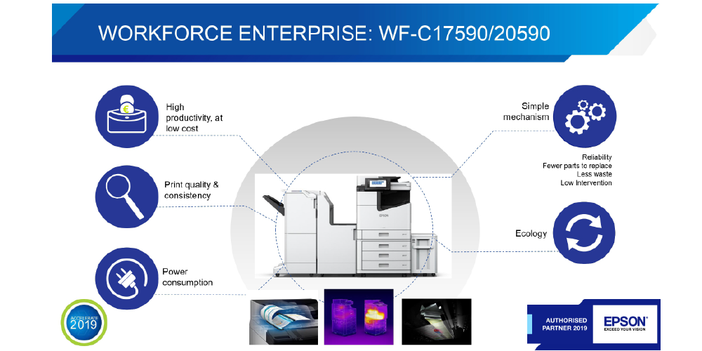 EPSON Enterprise Printing Features