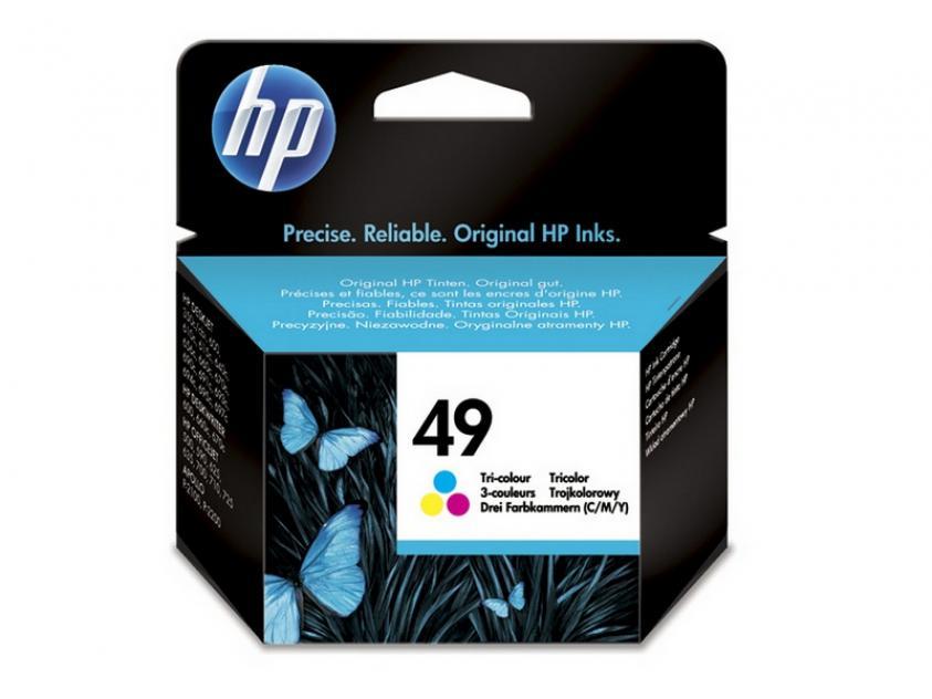 Μελάνι HP 49 Tri-Color 310Pgs (51649AE)
