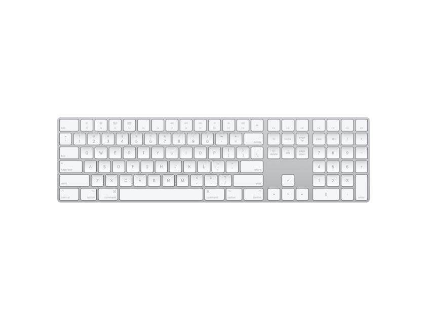 Apple Keyboard Magic with Numeric Keypad Greek (MQ052GR/A)