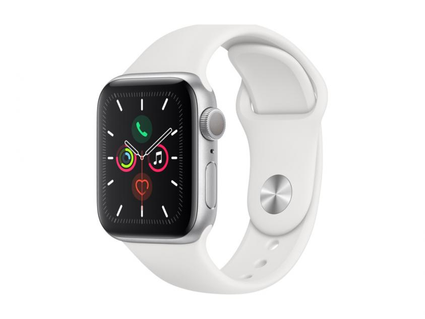 Apple Watch Series 5 Aluminium 40mm White (MWV62GK/A)