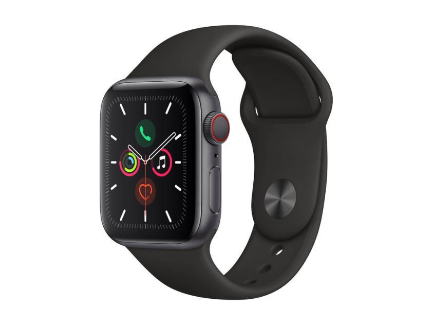 Apple Watch Series 5 Aluminium 44mm Black (MWVF2GK/A)