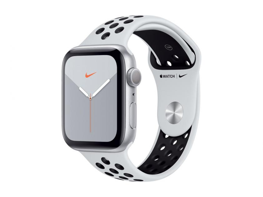Apple Watch Series 5 Nike 44mm Silver (MX3V2GK/A)