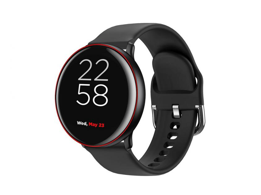 "SmartWatch Canyon ""Marzipan"" Black-Red (CNS-SW75BR)"