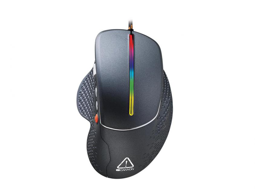 Gaming Mouse Canyon Apstar Side-Scrolling (CND-SGM12RGB)