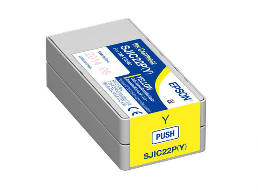 Μελάνι Epson Inkjet GJIC5 Yellow 32.5ml (C13S020566)
