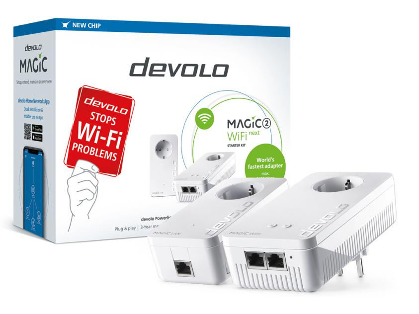 PowerLine Devolo Magic 2 WiFi 2-1-2 Next Starter Kit (8624)