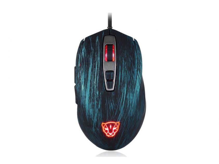 Gaming Mouse Motospeed V60 Wired Blue (MT00098)