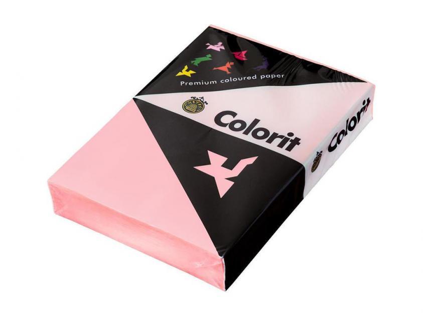 Χαρτί Lessebo Colorit A4 80gm2 Rose 5x500-Sheets Box (384823box)