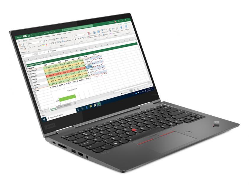 Laptop ThinkPad X1 Yoga Gen 5 14-inch Touch  i5-10210U/8GB/256GB/W10P/2Y (20UB0002GM)