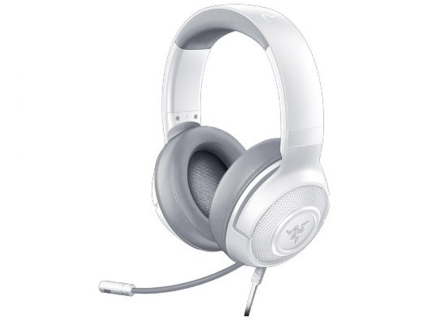 Gaming Headset Razer Kraken X Mercury 7.1 Analog PC/Console White (RZ04-02890300-R3M1)