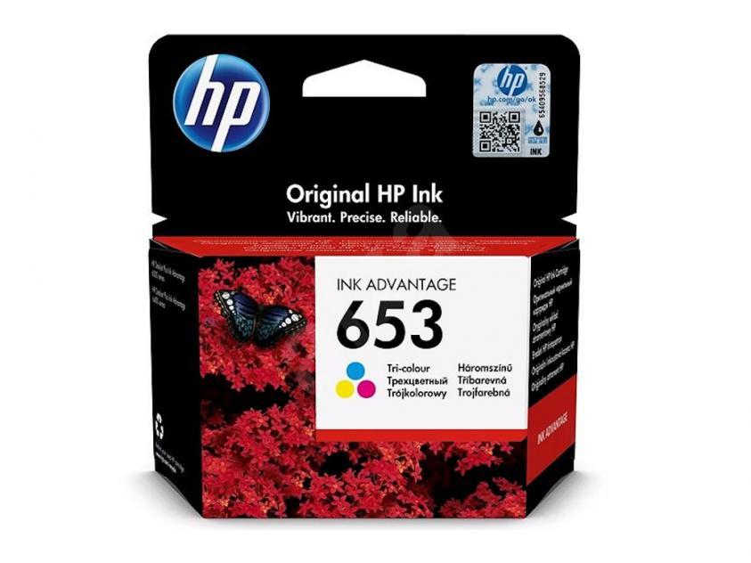 Μελάνι HP 653 Tri-Color 200Pgs (3YM74AE)