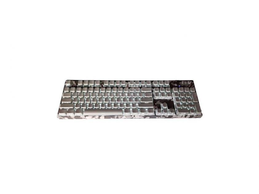 Gaming Keyboard Motospeed K96 RGB Camo Grey Blue Switches (MT00058)