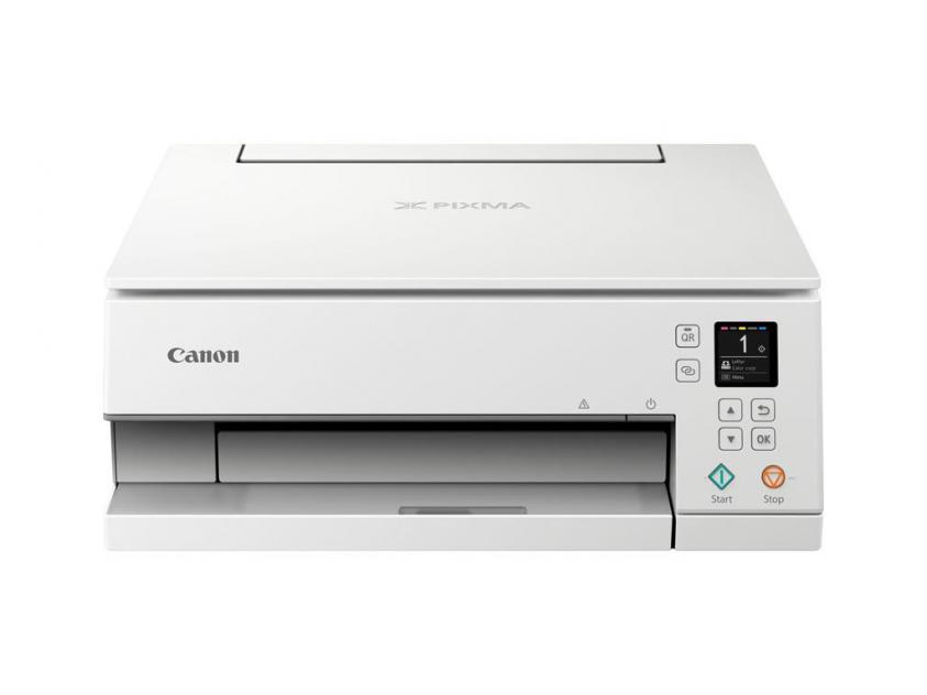 Πολυμηχάνημα Canon Color Inkjet Pixma TS6351 White (3774C026AA)