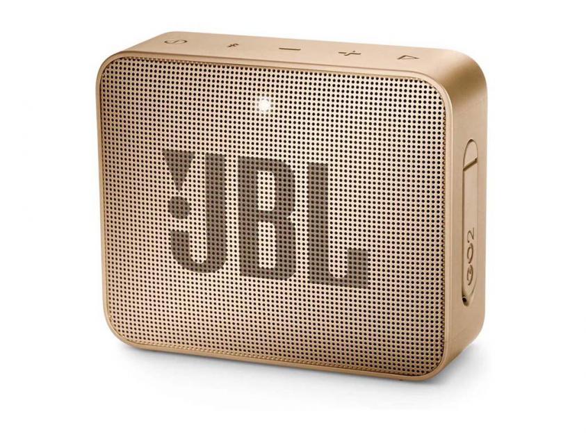 Φορητό Ηχείο JBL Go 2 Pearl Champagne (JBLGO2CHGN)