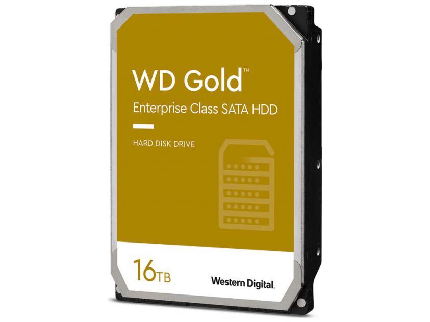 Εσωτερικός Σκληρός Δίσκος HDD Western Digital Gold 16TB SATA III 3.5-inch (WD161KRYZ)
