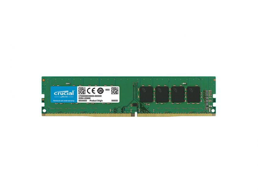 Μνήμη Crucial 4GB DDR4-2666Mhz UDIMM (CT4G4DFS8266)