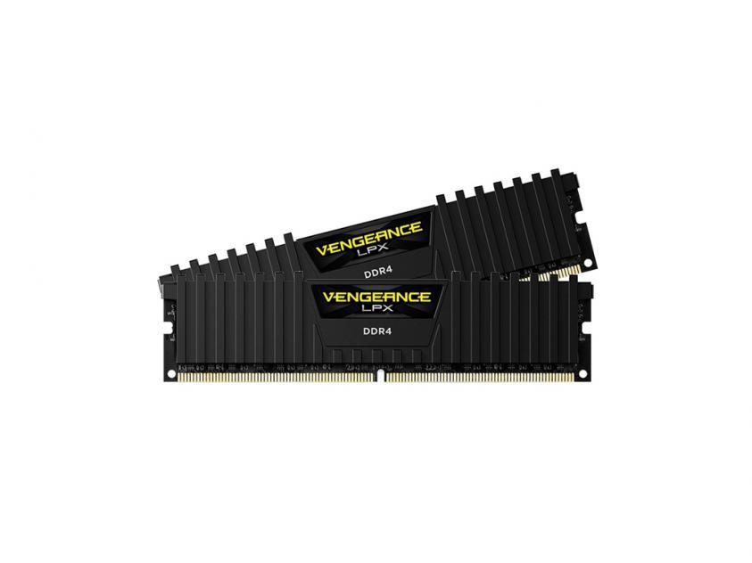 Μνήμη RAM Corsair Vengeance LPX 16GB (2x8GB) 3000MHz DDR4 (CMK16GX4M2D3000C16)