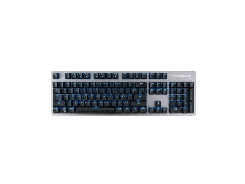 Gaming Mechanical Keyboard Motospeed GK89 Black Wireless GR Layout Black Switches (MT00147)