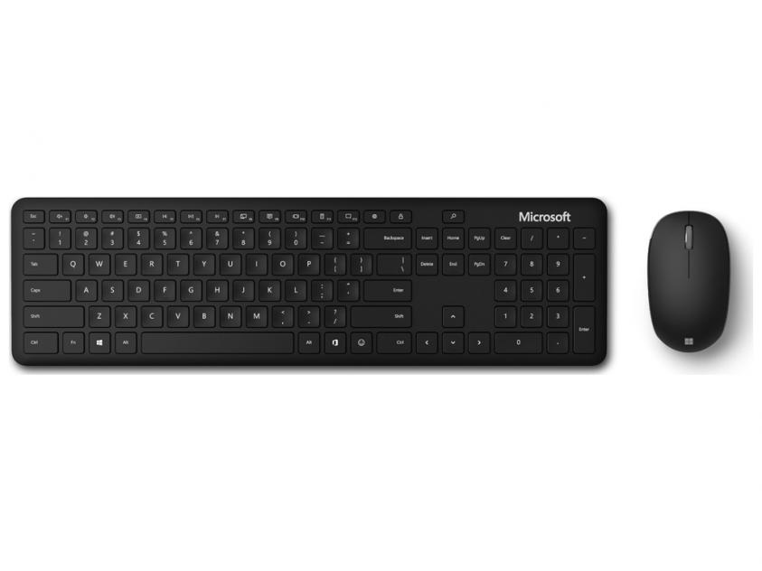 Πληκτρολόγιο/Ποντίκι Microsoft Set Bluetooth Black (QHG-00026)