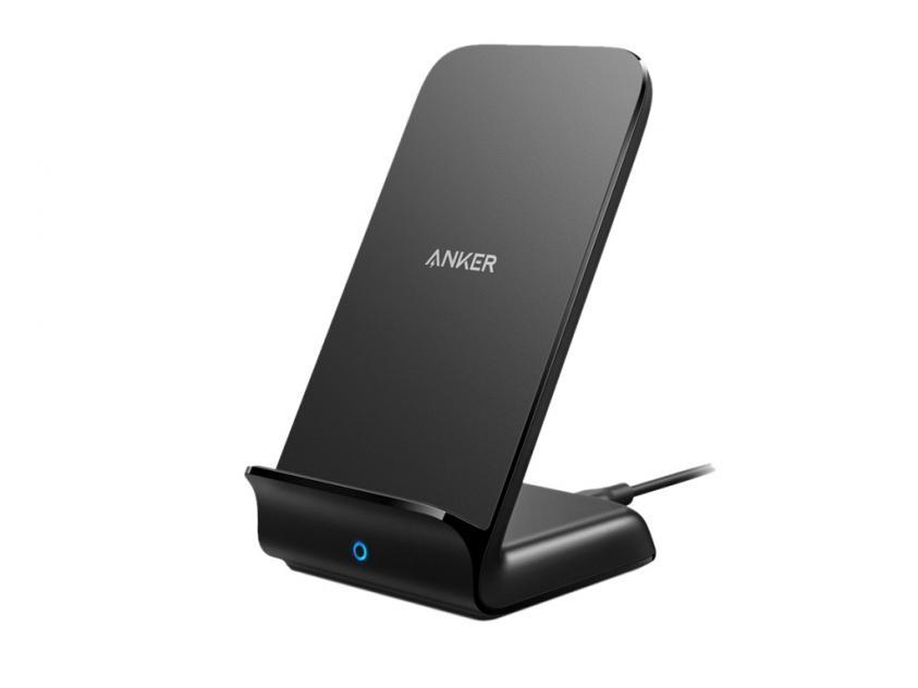 Ασύρματος Φορτιστής Anker Powerwave+ Stand Black (A2526HF1)