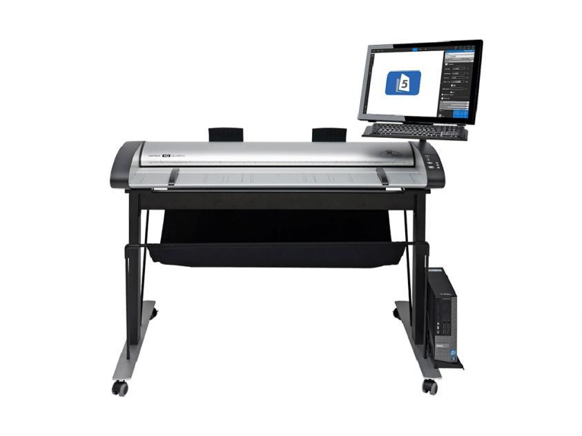 Σαρωτής Contex IQ Quattro X 4490 ScanStation PRO High Stand (5200D018046-5200D550-2200H007B06)