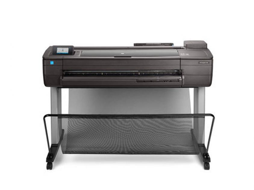 Plotter HP DesignJet T730 36-in with new stand (F9A29D)