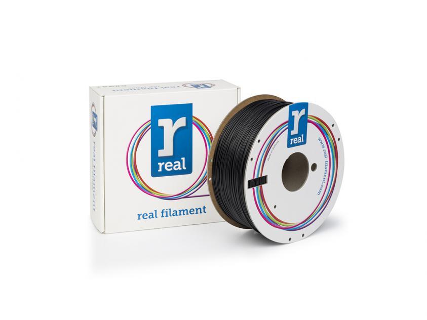 3D Printer Filament Real ABS 1.75mm Spool of 1Kg Black (NLABSBLACK1000MM175)