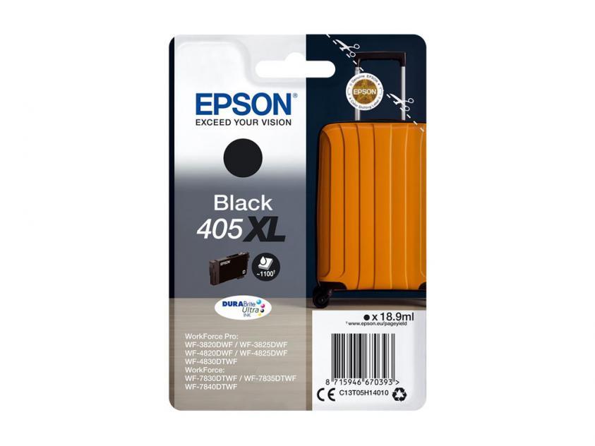 Μελάνι Epson 405XL Black 1100Pgs (C13T05H14010)