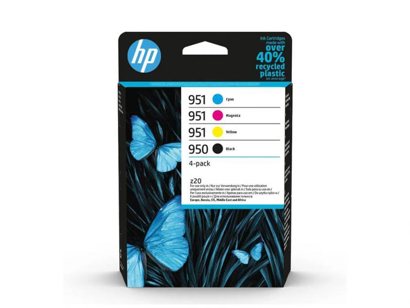 Μελάνι HP 950/951 4-Pack Black/Cyan/Magenta/Yellow 1000Pgs/3x700Pgs (6ZC65AE)