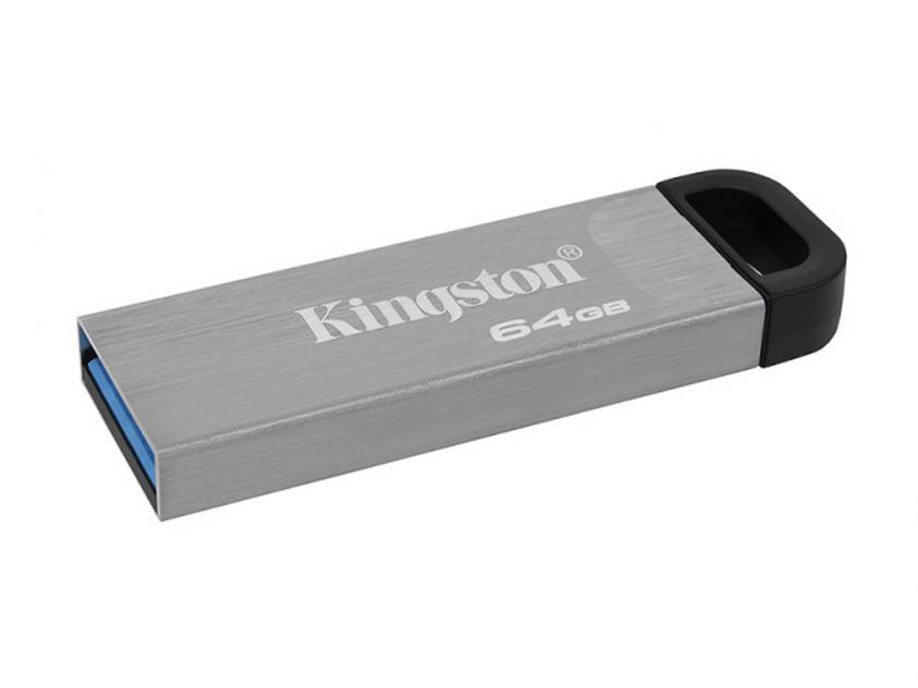 USB Flash Drive Kingston DataTraveler Kyson 64GB 3.2 Silver (DTKN/64GB)