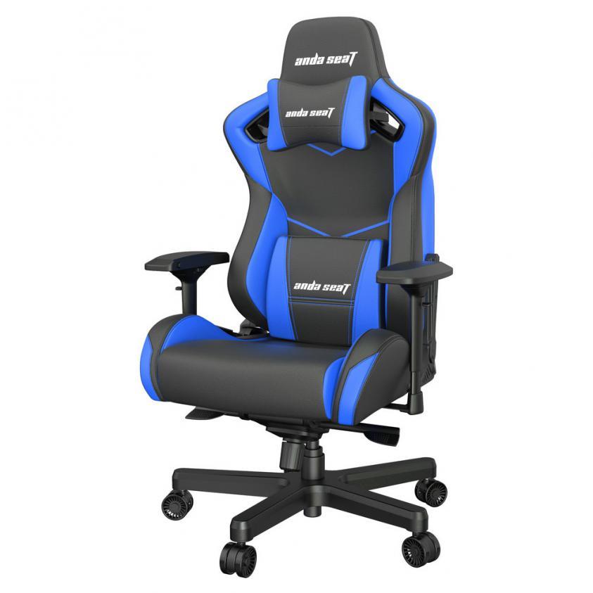 Gaming Καρέκλα Anda Seat AD12XL Kaiser-II Black/Blue (AD12XL-07-BS-PV-S01)