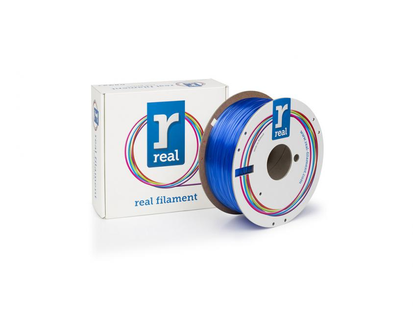 3D Printer Filament Real PETG 2.85mm Spool of 1Kg Translucent Blue (NLPETGBLUE1000MM3)