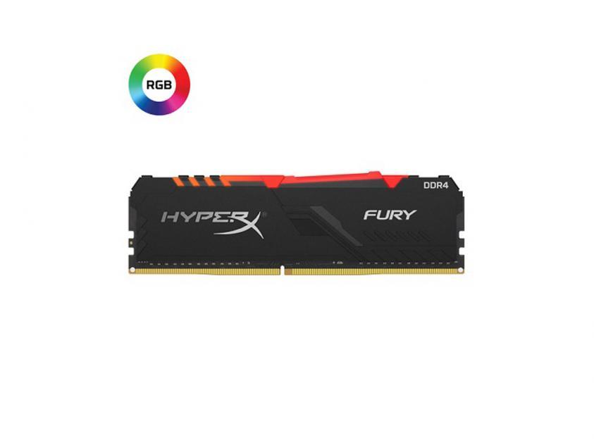 Μνήμη RAM Kingston HyperX Fury RGB 16GB DDR4 3733MHz (HX437C19FB3A/16)