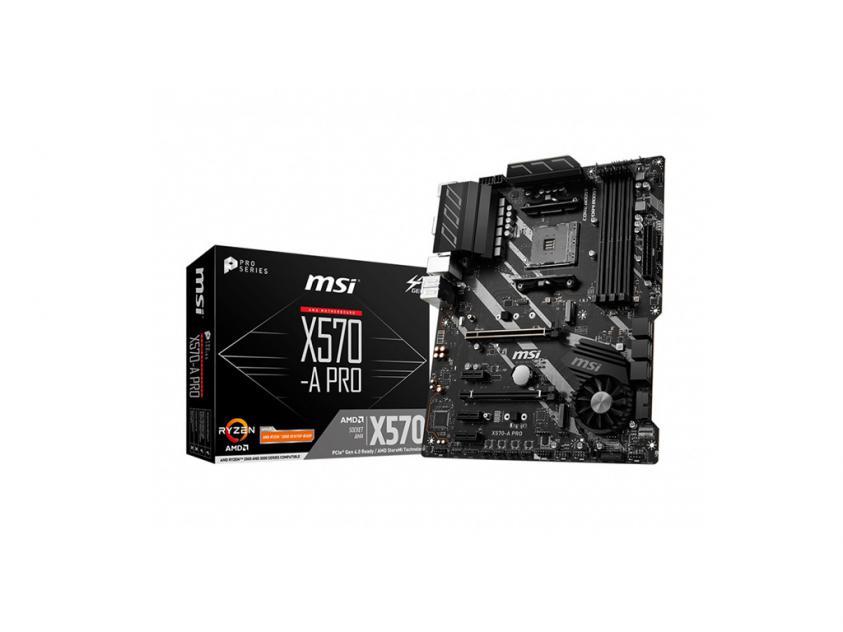 Μητρική MSI X570-A Pro (7C37-003R)