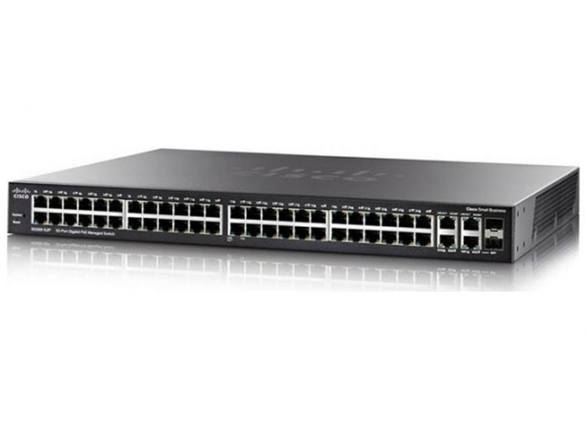 Switch Cisco SG350-52MP-K9-EU 52-Port (SG350-52MP-K9-EU)