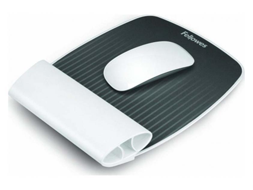 MousePad Fellowes Wrist Rest Rocker White (9314802)