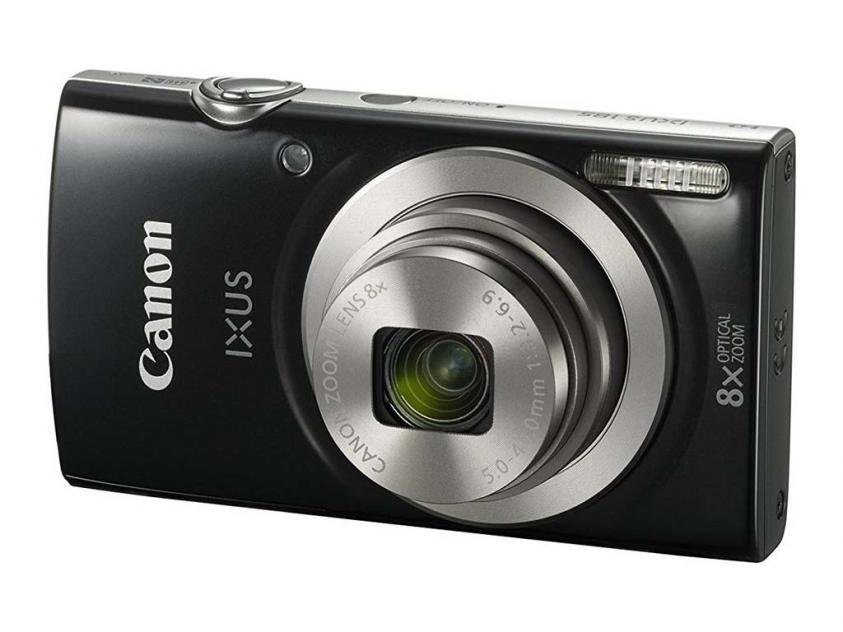 Φωτογραφική Μηχανή Canon Ixus 185 Black (1803C001AA)