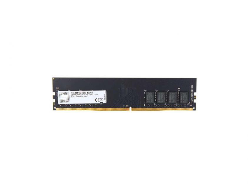 Μνήμη RAM G.Skill Value 8GB DDR4 2666MHZ (F4-2666C19S-8GNT)
