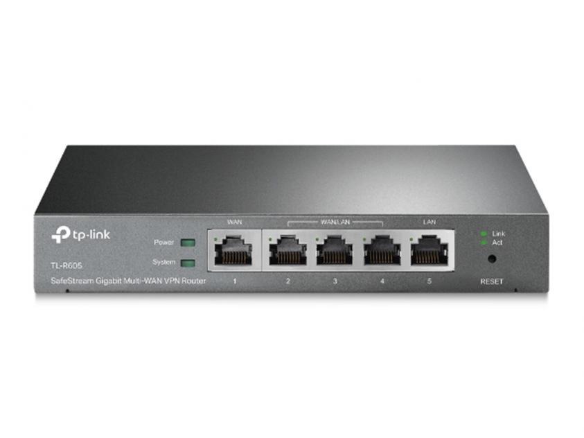 Router TP-Link SafeStream Gigabit Multi-WAN VPN (TL-R605)