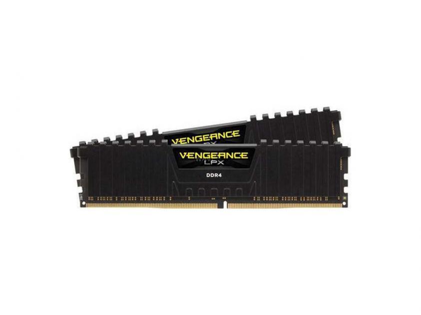 Μνήμη RAM Corsair Vengeance DDR4 3600MHZ 16GB KIT BLACK C18 (CMK16GX4M2D3600C18)