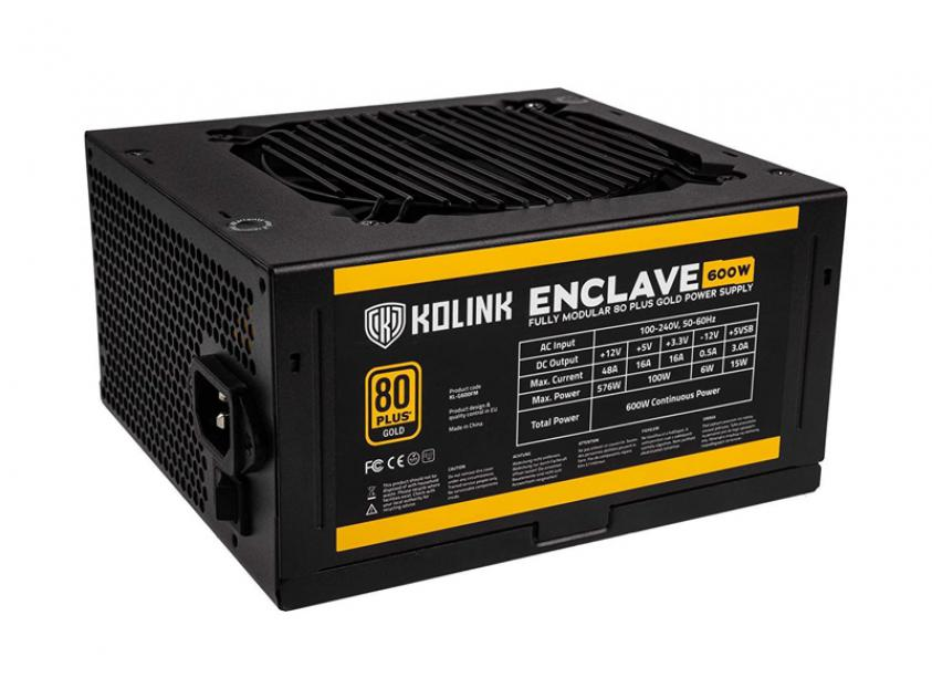 Τροφοδοτικό Kolink Enclave 600W (NEKL-027)