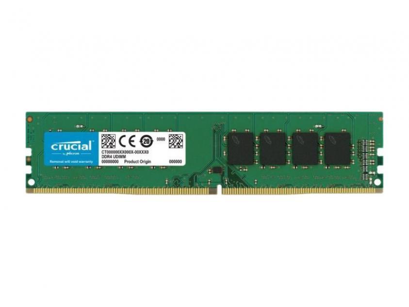 Μνήμη RAM Crucial CT16G4DFRA266 16GB DDR4 2666MHz CL19  (CT16G4DFRA266)