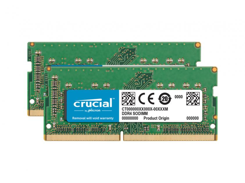 Μνήμη RAM Crucial CT2K16G4S24AM 32GB DDR4 2400MHz CL17 Kit (CT2K16G4S24AM)