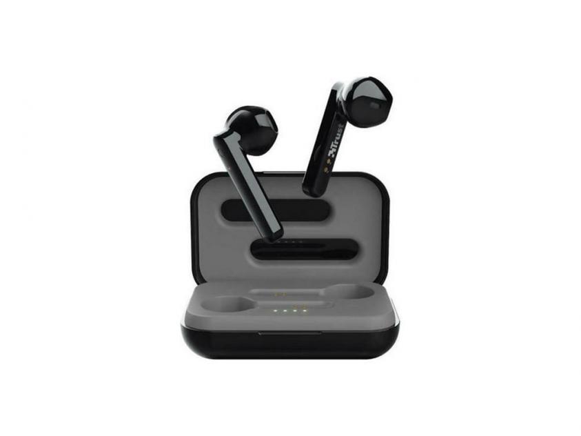 Ακουστικά TWS Trust Primo Touch Black (23712)