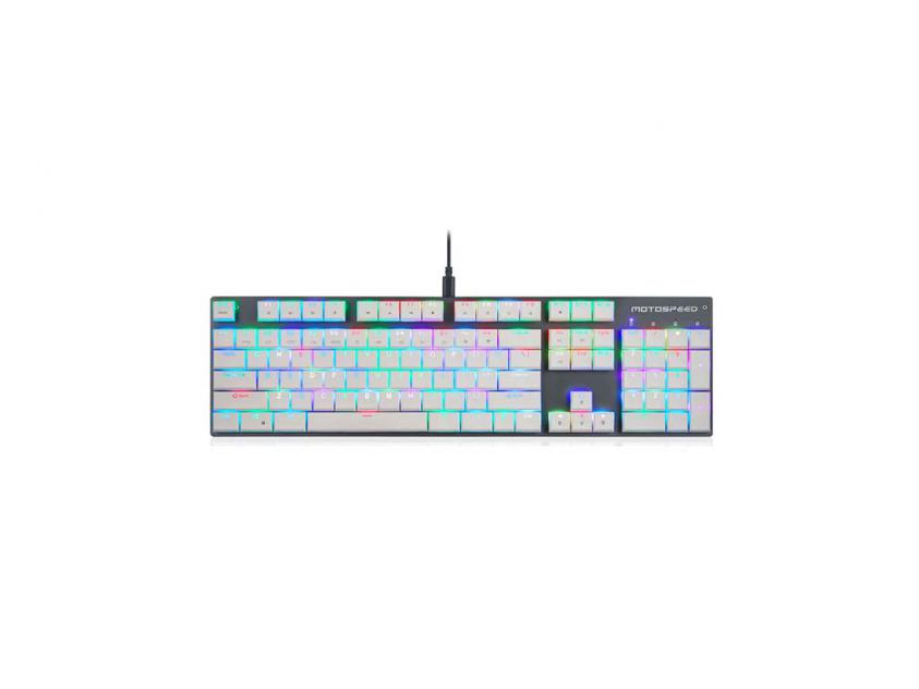 Gaming Mechanical Keyboard Motospeed CK94 Wired RGB Black Kailh Short Switch GR Layout (MT00217)