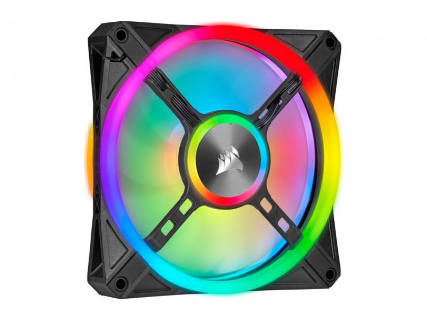 Ανεμιστήρας Corsair iCUE QL140 140mm RGB Black(CO-9050099-WW)