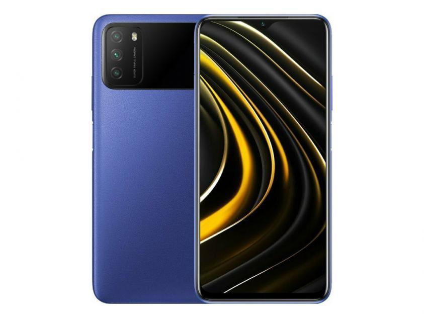 Κινητό Τηλέφωνο Xiaomi PocoM3 Dual Sim 4GB/64GB Blue (POCM3464BL)