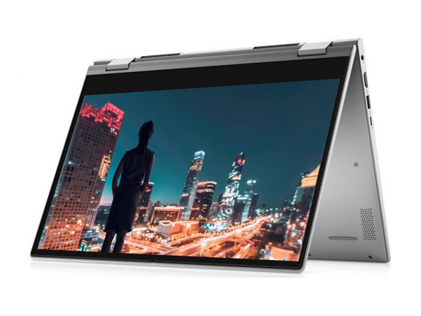 Laptop Dell Inspiron 5406 2-in-1 14-inch Touch i5-1135G7/8GB/512GB/W10P/2Y/Τitan Grey (NBINS5406I58512WP)